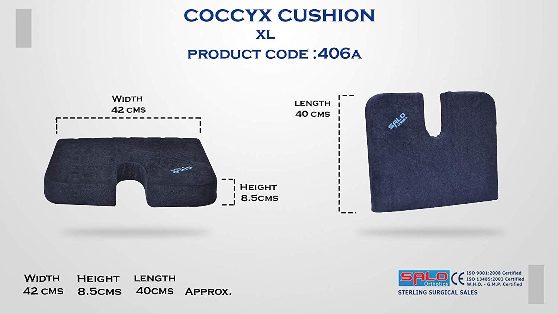 Coccyx Seat Cushion For Tailbone Pain Salo Orthotics